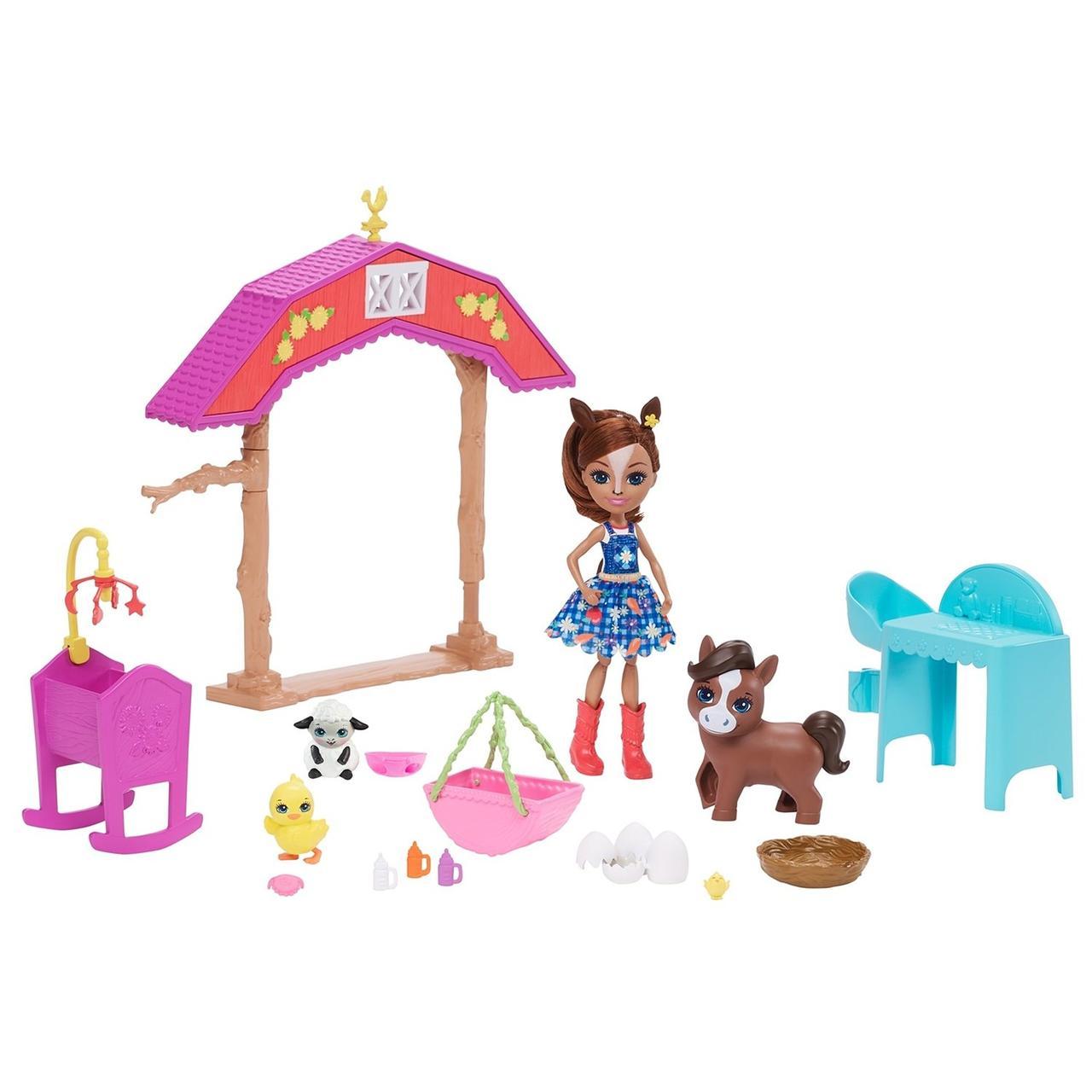 Enchantimals Игровой Набор Энчантималс GJX23 Детский сад для жеребят Хейди Хорс - фото 1