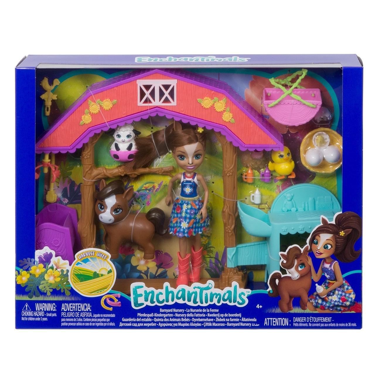 Enchantimals Игровой Набор Энчантималс GJX23 Детский сад для жеребят Хейди Хорс - фото 5
