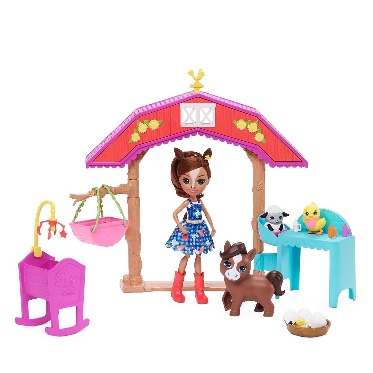 Enchantimals Игровой Набор Энчантималс GJX23 Детский сад для жеребят Хейди Хорс - фото 2