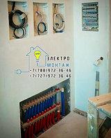 Установка и подключение светильников люминисцентных и светодиодных на 1 лампу в Алматы