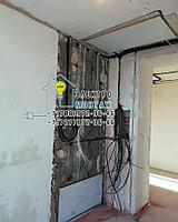 Установка и подключение светильников люминисцентных и светодиодных на 2 лампы в Алматы