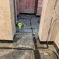 Установка светильника закрытого для лампы накаливания на потолок или стену в Алматы