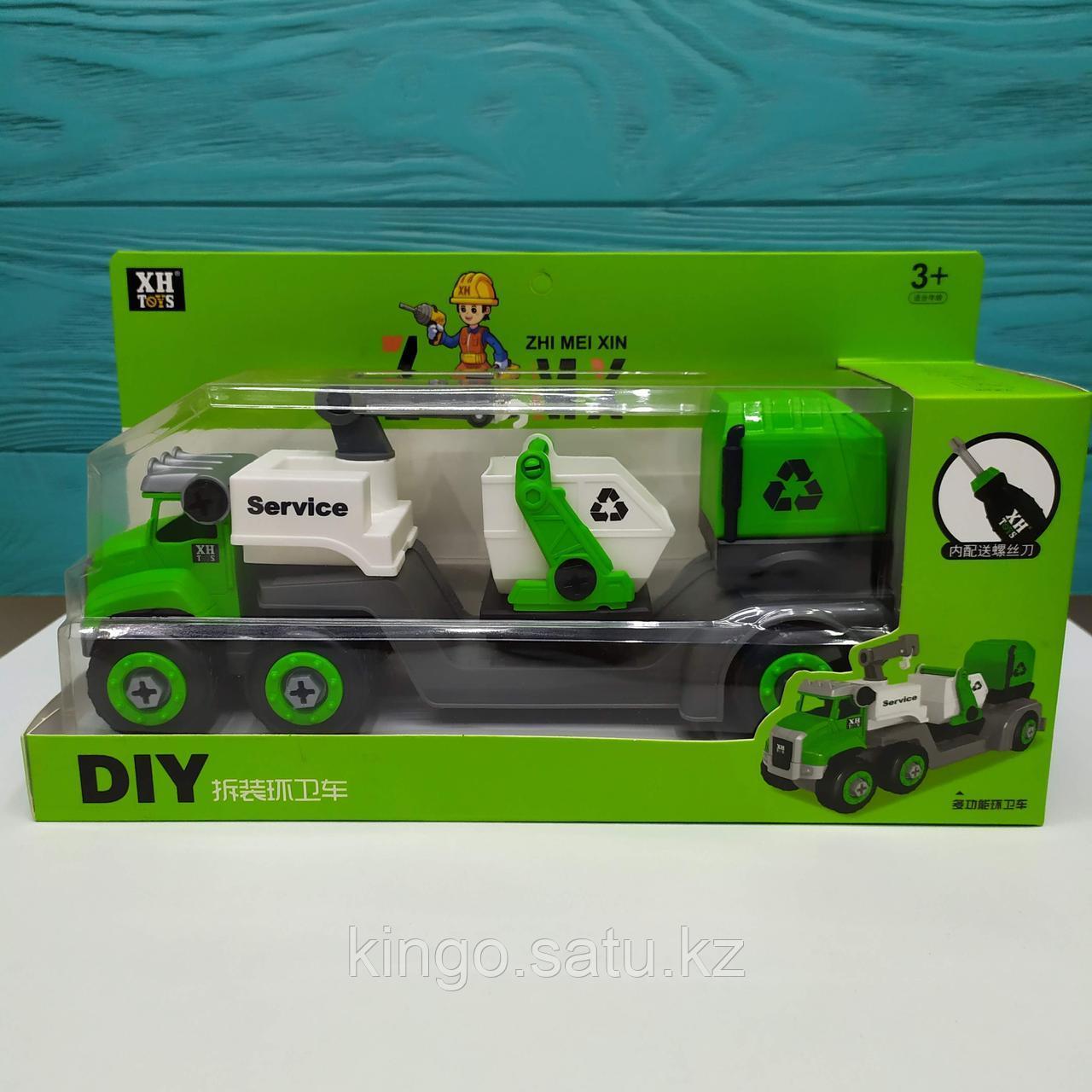 Конструктор Машинка DIY Toys XH