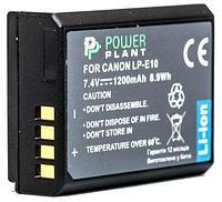 Аккумулятор для Canon LP-E10 (PowerPlant) 1200mAh, фото 1