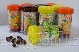 Тайские травяные шарики против кашля и простуды 100 шт