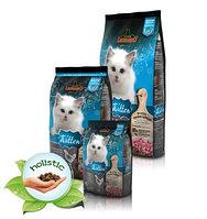 758015 LEONARDO KITTEN, Леонардо корм для котят с курицей , уп. 2кг.