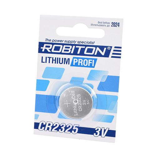 Литиевая батарейка таблетка Robiton CR2325