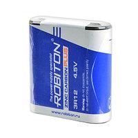 Солевая батарейка квадрат Robiton 3R12 220 mAh 4.5V Zinc Carbon Plus Battery