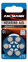 Батарейка для слуховых аппаратов ANSMANN 675  1,4v  PR44