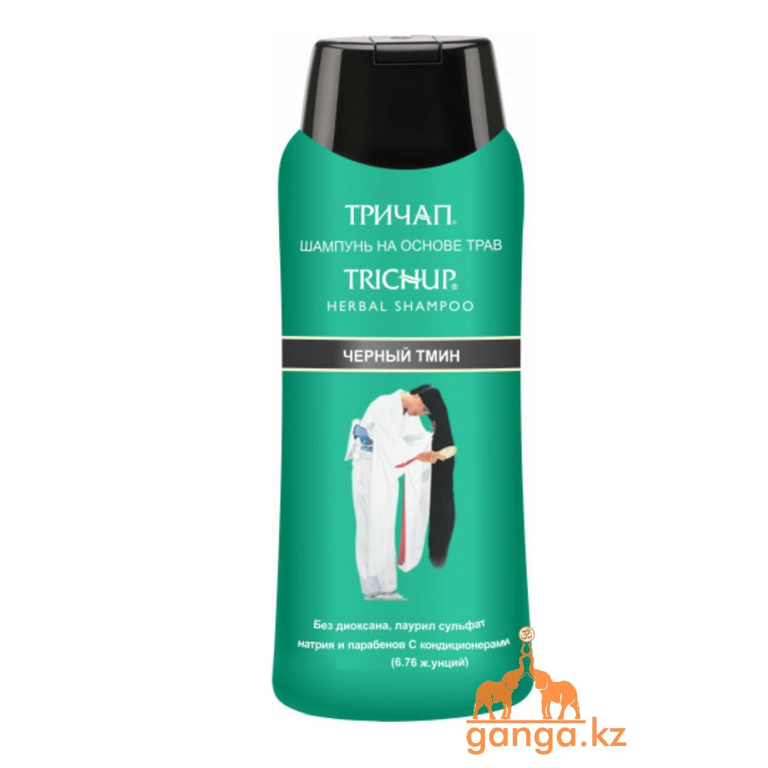 Тричап шампунь с Черным Тмином (Trichup Herbal Black Seed Shampoo  VASU), 400 мл