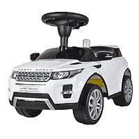 Машинка каталка Chilok Bo Range Rover музыкальная панель Белый, фото 1
