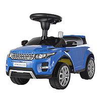 Машинка каталка Chilok Bo Range Rover музыкальная панель синий, фото 1