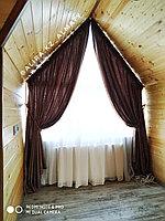 Пошив штор для нестандартных окон