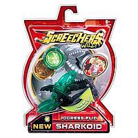Шаркоид Дикие скричеры Sharkoid Акула машинка трансформер 37758