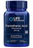 Life Extension, Пантотеновая кислота, (витамин B-5)