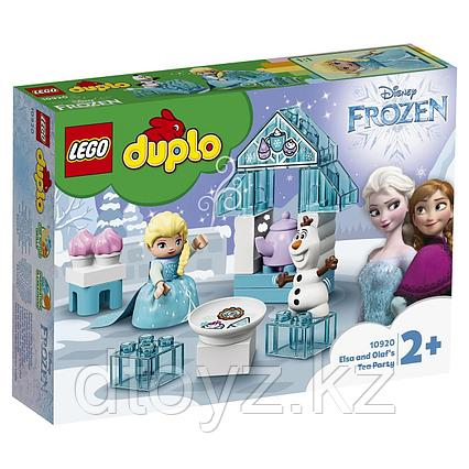 LEGO Duplo 10920 Princess Чаепитие у Эльзы и Олафа