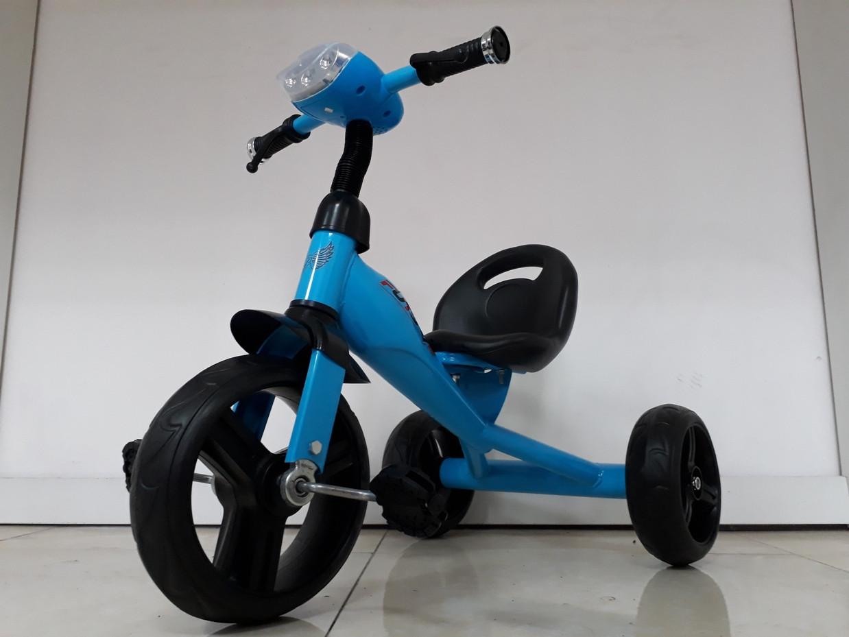 Детский трехколесный велосипед Future с передней фарой и мелодиями