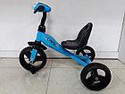 Детский трехколесный велосипед Future с передней фарой и мелодиями, фото 3
