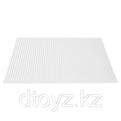 Lego Classic 11010 Пластина базовая Белая
