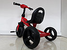 Велосипед Future  трехколесный для детей с передней фарой и мелодиями, фото 6