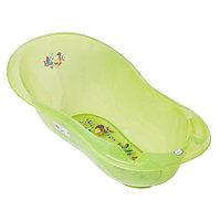 Детская ванна овальная Tega Baby Aqua 102 см с градусником зеленый, фото 1