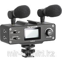 Микрофонный комплект Saramonic CaMixer (2 микрофона + цифровой микшер) для DSLR и видеокамер