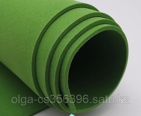 Фоамиран зеленый. 40 * 60 см *2 мм.  Creativ 2451