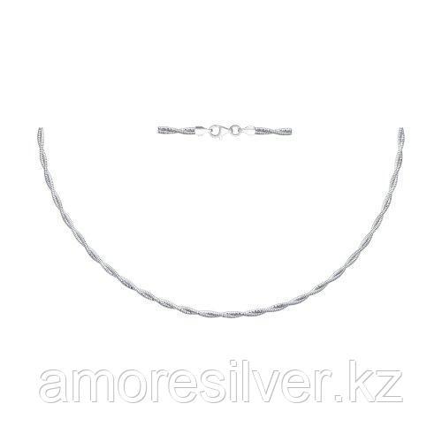 Колье SOKOLOV серебро с родием, без вставок 94074451