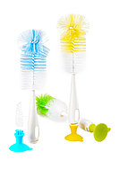 Ершик для мытья бутылочек+ершик для мытья сосок HAPPY CARE