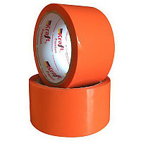 Упаковочная лента оранжевая 48х36м