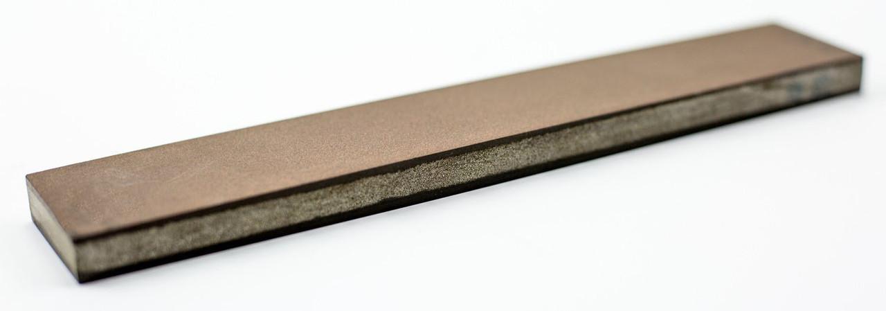 Алмазный брусок двухсторонний 200*35*10мм, мелкий, 3/2 - 1/0,100%