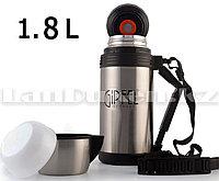 Вакуумный термос для чая Gipfel 1.8 L с ремнем переноской (6018)