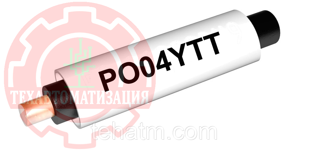 PO04YTT Комплект РО, овальный профиль для кабеля диаметром 3,8-7,0мм, желтый, 100 метров