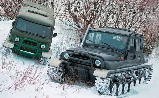 Вездеходы и Снегоболотоходы на гусеничном ходу