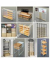 Рекламное оборудование деревянные стеллажи витрина стенды для магазина деревянные стеллажи