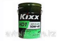 Моторные cинтетические масла для дизельных двигателей KIXX HD1 10W-40 20 л.