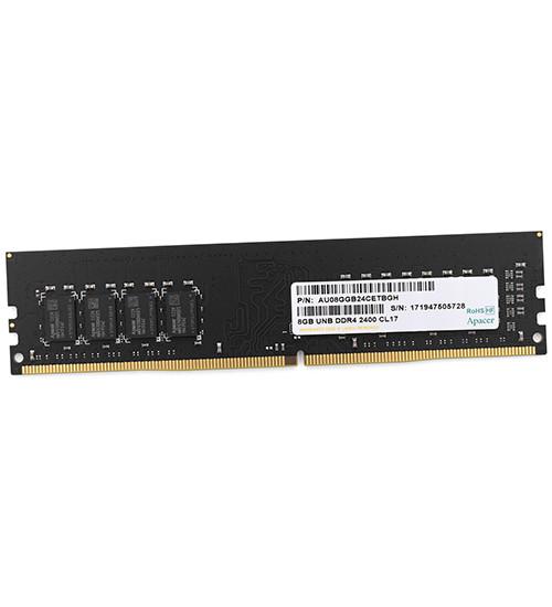 Модуль памяти Apacer, EL.08G2T.KFH, DDR4, 8 GB DIMM  CL17