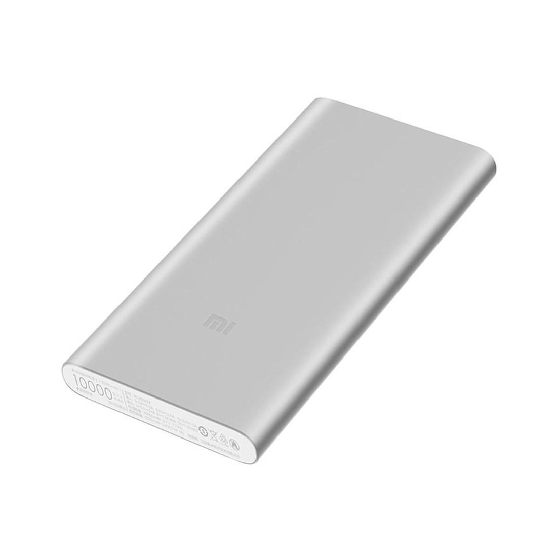Портативное зарядное устройство Xiaomi Mi Power Bank 10000mAh,Серебристый
