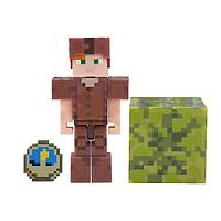 Minecraft Майнкрафт фигурка Alex in Leather Armor