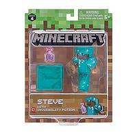 Minecraft  Майнкрафт фигурка Steve with Invisibility Potion