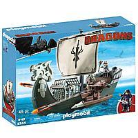 Конструктор Playmobil Драконы: Корабль Драго 9244pm