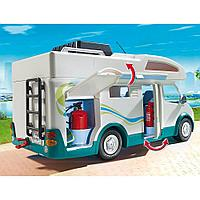 Конструктор Playmobil Аквапарк: Семейный автомобиль - дом на колесах 6671pm, фото 1
