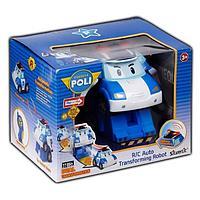 Робот-трансформер Robocar Poli Поли на радиоуправлении . Управляется в форме робота и машины, фото 1