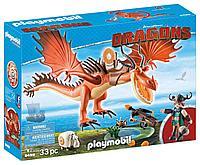 Конструктор Playmobil Драконы: Сморкала и Криволык 9459pm, фото 1