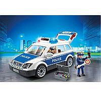 Конструктор Playmobil Полиция: Полицейская машина со светом и звуком, фото 1