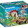 Конструктор Playmobil Динозавры: Исследовательский транспорт со стегозавром 9432pm