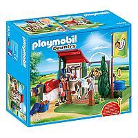 Конструктор Playmobil Конный клуб: Грумерская станция для лошадей, фото 1