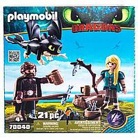 Конструктор Playmobil Драконы III: Игровой набор: Иккинг и Астрид, фото 1