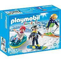 Конструктор Playmobil Зимние виды спорта: Зимние виды спорта - трио, фото 1