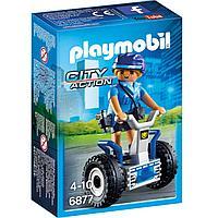 Полиция: Полицейский на балансирующей гоночной машине, фото 1